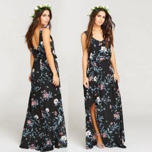 SMYM KENDALL MAXI DRESS ~ GWS MUMU WEDDING SOIREE